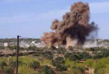 صورة قصف مدفعي يستهدف جبل الزاوية والفصائل ترد على جورين