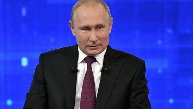 صورة هجوم إلكتروني يستهدف مقابلة بوتين مع المواطنين الروس