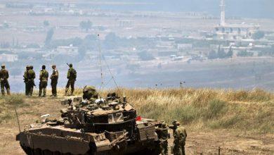 صورة إسرائيل تدمر نقطة مراقبة تابعة للجيش السوري في الجولان