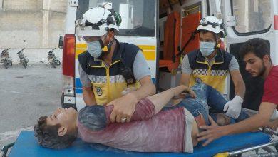 صورة مقتل 7 أشخاص في قصف مدفعي على جبل الزاوية