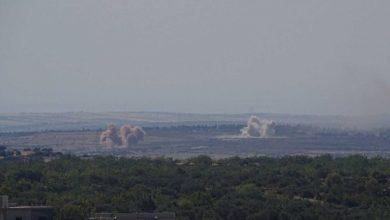 """صورة بعد بيان """"أستانا"""" بساعات.. قصف مدفعي على إدلب وحماة"""