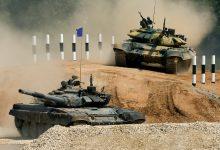"""صورة تدريبات للجيش السوري إستعداداً لـ""""سباق"""" في روسيا"""