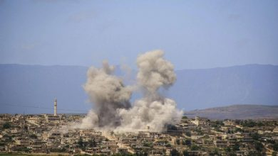 صورة استمرار التصعيد العسكري في الشمال السوري