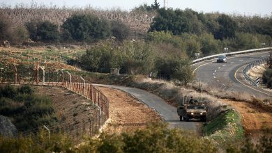 صورة صواريخ تستهدف إسرائيل من الأراضي اللبنانية
