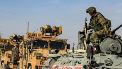 صورة تسيير دورية روسية تركية مشتركة شمال حلب