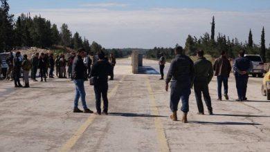 """صورة افتتاح معبر بين """"الجيش الوطني"""" و""""قسد"""" في منبج"""