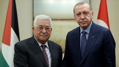 """صورة """"محمود عباس"""" في تركيا لمنقاشة تطورات الصراع الفلسطيني – الإسرائيلي"""
