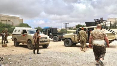 صورة قتلى وجرحى سوريين في ليبيا