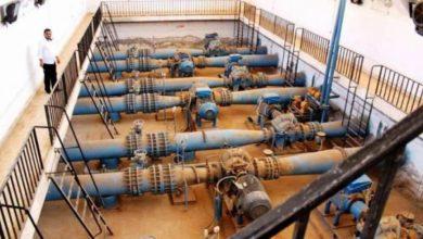 صورة بعد أيام من تشغيلها.. توقف محطة مياه علوك بريف الحسكة