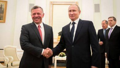 صورة الملف السوري على أجندة لقاء مرتقب بين العاهل الأردني والرئيس الروسي