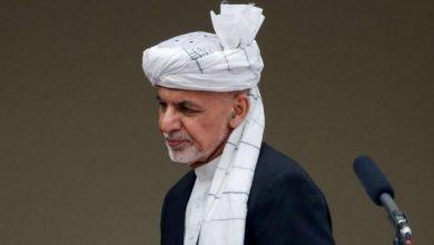 """صورة الإمارات تعلن استضافتها الرئيس الأفغاني الفار """"لأسباب إنسانية"""""""