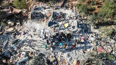 صورة خمسة قتلى في قصف مدفعي على ريف إدلب