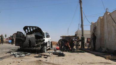 """صورة مقتل قيادي في """"العمال الكردستاني"""" في قصف بطائرة مسيرة"""