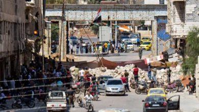 صورة فشل مفاوضات درعا مجددا
