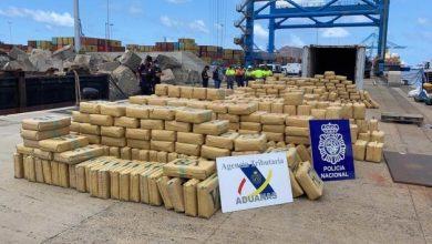 صورة إسبانيا… ضبط شحنة مخدرات قادمة من سوريا و لبنان