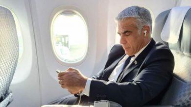 صورة انطلاق الرحلة الرسمية الأولى بين إسرائيل والمغرب