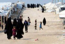 صورة ألبانيا تستلم عددا من مواطنيها المحتجزين في مخيم الهول