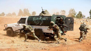 صورة هيئة تحرير الشام تستهدف مقر لقيادة القوات الروسية في ريف اللاذقية