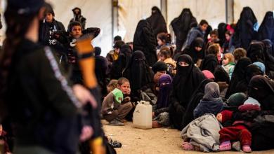 صورة قسد تعزل أطفال داعش عن أمهاتهم