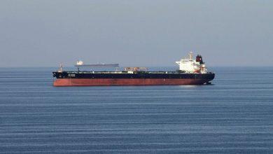 صورة حسن نصر الله يعلن وصول سفينة النفط الإيرانية الى سوريا
