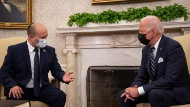"""صورة محادثات سرية أمريكية إسرائيلية لمناقشة """"الخطة ب"""" ضد إيران"""