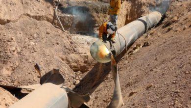 صورة وزارة النفط والثروة المعدنية تعلن جهوزية خط الغاز العربي داخل سوريا