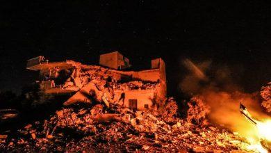 صورة قصف مدفعي على أريحا بريف إدلب