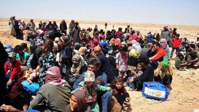 صورة إجلاء الراغبين بالخروج من مخيم الركبان