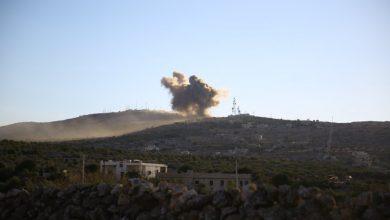 صورة استمرار التصعيد العسكري في الشمال السوري قبل أيام من قمة أردوغان وبوتين