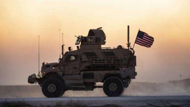 صورة هجوم صاروخي يستهدف قاعدة أمريكية بريف الحسكة