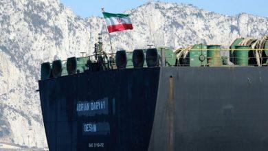 صورة وصول باخرة وقود إيرانية ثانية إلى بانياس