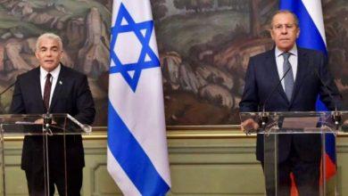 صورة وزير الخارجية الإسرائيلي يهاجم إيران من موسكو