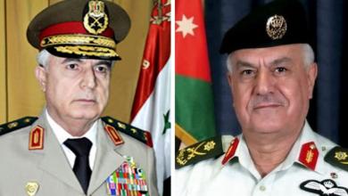 صورة لأول مرة منذ سنوات.. وزير الدفاع السوري يزور الأردن