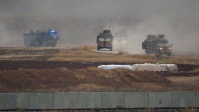صورة القوات التركية الروسية تسير دورية مشتركة في عين العرب