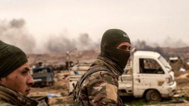 صورة اشتباكات بين قسد والجيش الوطني في ريف الرقة