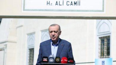 صورة أردوغان يطالب روسيا بالتعاون بشأن إدلب