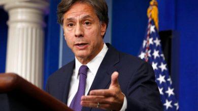 صورة وزير الخارجية الأمريكي يحذر من تطوير إيران لبرنامجها النووي