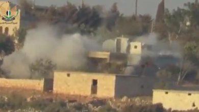 """صورة """"الجبهة السورية للتحرير"""" ترد على قصف عفرين"""