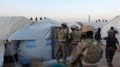 صورة قسد تغلق مكاتب الصرافة في مخيم الهول