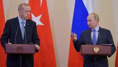 صورة ماذا على طاولة لقاء أردوغان وبوتين في سوتشي؟