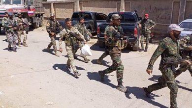 صورة اتمام عملية التسوية في بلدة تسيل بريف درعا