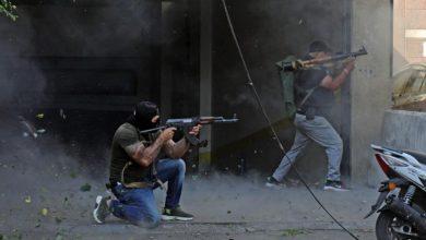 صورة ارتفاع عدد ضحايا اشتبكات بيروت الى 7 قتلى و31 جريح