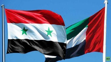 صورة الاتفاق على إعادة تفعيل مجلس رجال الأعمال السوري الإماراتي