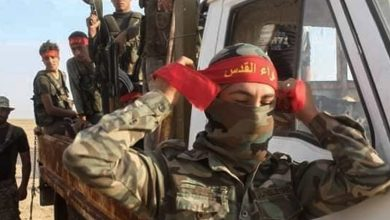 """صورة دير الزور.. مقتل عنصرين من ميليشيا """"لواء القدس"""""""