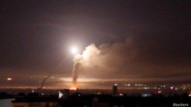صورة الميليشيات الإيرانية بتدمر تهدد بالرد على القصف الإسرائيلي الأخير