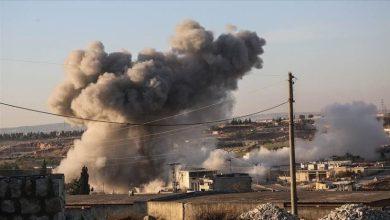 صورة قصف جنوني تتعرض له أرياف حلب وإدلب واللاذقية