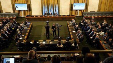 صورة ترحيب أمريكي بإعلان استئناف اجتماعات اللجنة الدستورية