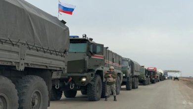 صورة الرقة.. تعزيزات روسية إلى قاعدة تل السمن