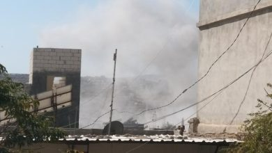 صورة قتلى وجرحى بقصف مدفعي على إدلب